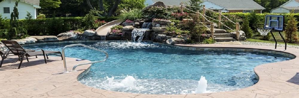 Custom Built Pools by Landi Pools and Games